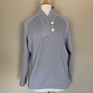 The North Face Grey Pullover Sweater Sz XL